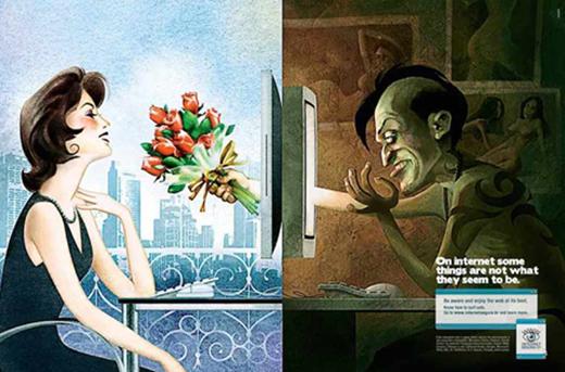Hãy cẩn thận với những người xa lạ bạn quen được trên mạng xã hội, họ có thể chỉ là... những con quái thú đội lốt người mà thôi.