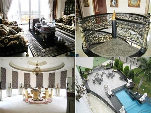 Một số khung cảnh từng được truyền thông tiết lộtrong ngôi nhà xứng tầm hoàng gia của gia đình Louis Nguyễn. - Tin sao Viet - Tin tuc sao Viet - Scandal sao Viet - Tin tuc cua Sao - Tin cua Sao
