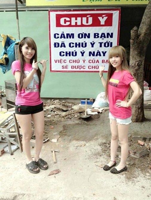 Khắp Việt Nam, không bảng hiệu nào... nhảm nhí qua bảng hiệu này.(Ảnh: Internet)