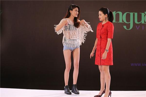 Thí sinh Anh Thư quay trở lại Vietnam's Next Top Model 2016 sau lần thất bại vào 3 năm trước. Chính sự động viên của Thanh Hằng giúp cô gái này có động lực để rèn luyện nhiều hơn trong suốt khoảng thời gian qua.
