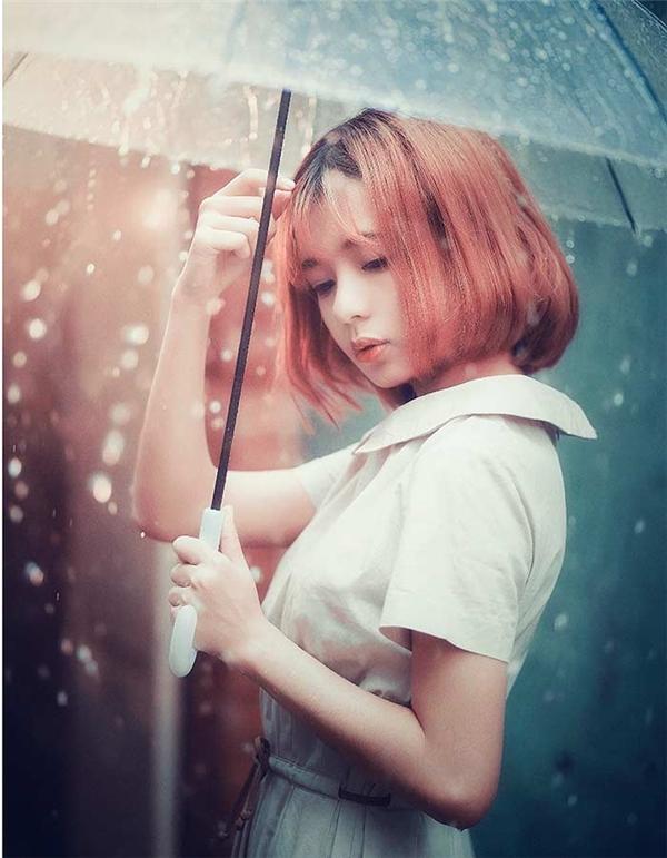 Thanh Nhãsinh năm 1994, hiện là người mẫu ảnh được nhiều nhiếp ảnh gia chúý.(Ảnh: Internet)