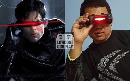 Cyclops mà nhìn thấy mình được cosplay thế này thì chắc là vứt luôn chiếc kính che mắt ra mất.