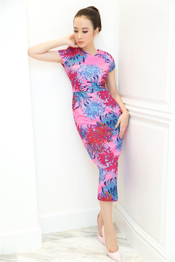 Đỗ Mạnh Cường chăm chút váy áo cho Angela Phương Trinh