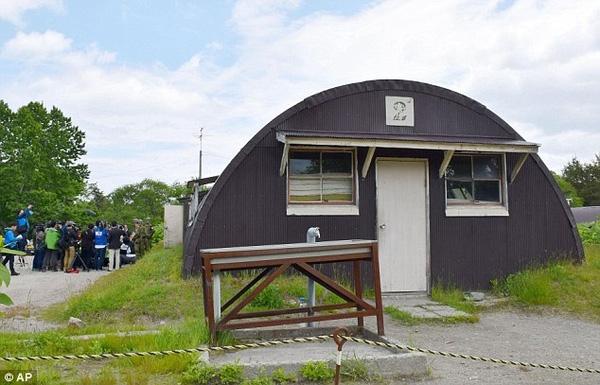 Ngôi nhà bỏ hoang tại thị trấn Shikabe ở hòn đảo Hokkaido, nơi cậu bé mất tích sống ở đó 6 ngày.