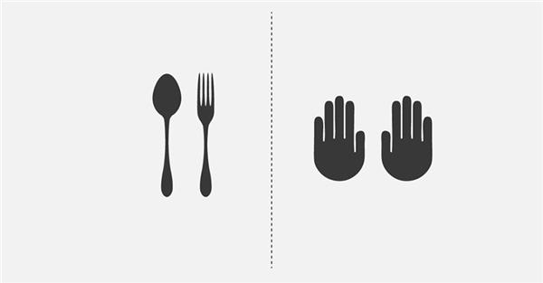 Bạn thích dùng muỗng nĩa hay thích ăn bốc hơn?