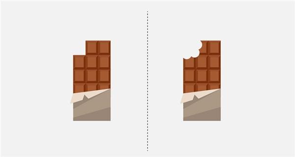 Bạn ăn socola kiểu gì: dùng tay hay dùng răng?