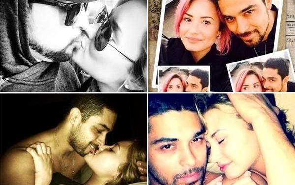 Những hình ảnh tình cảm của cặp đôi nổi tiếng