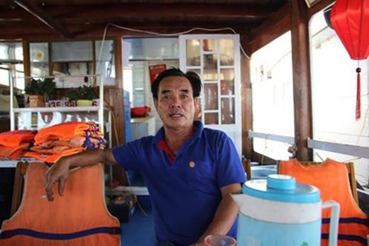 ÔngNguyễn Văn Hốtthuyền trưởng tàu Hàn Giang. (Ảnh: Internet)