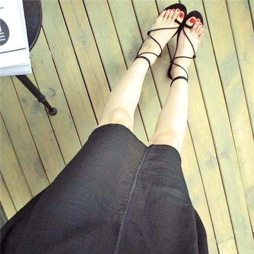 Lấy cảm hứng từ đôi giày múaba lê nên nó mang hơi thở cổ điển và vô cùng nữ tính. (Ảnh: Internet)