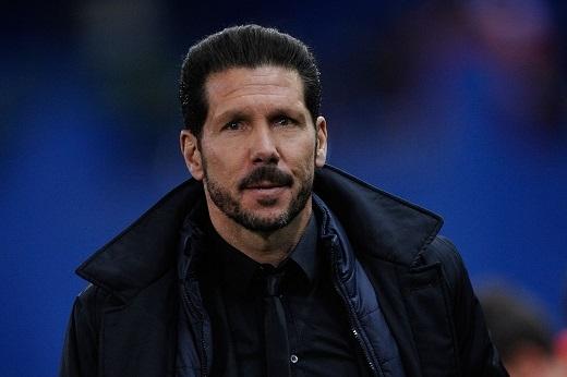 HLV Simeone đã từ chối lời đề nghị của đội bóng nước Pháp