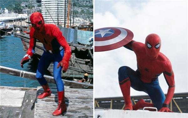 Ngày ấy, bây giờ của các siêu anh hùng trên phim