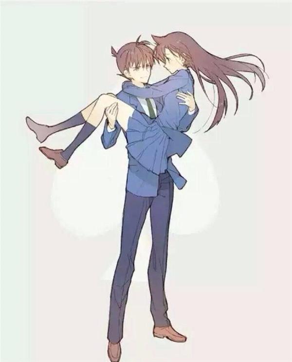 Shinichi Kudo và cô bạn thời thơ ấu Ran Mori dẫn đầu danh sách vì dù sao đây cũng là cặp đôi chính trong truyện.