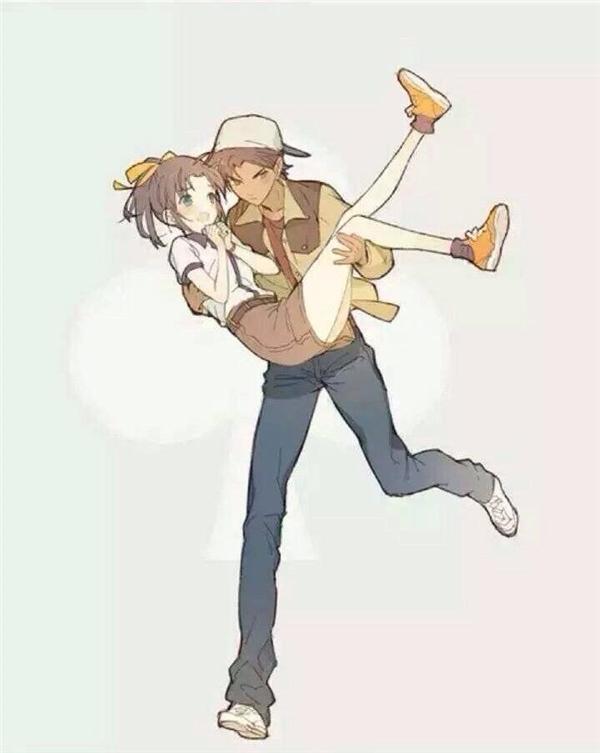 Đứng thứ hai là cặp đôi trẻ trung, đáng yêu nhưng cũng không kém phần trưởng thành Heiji Hattori và Kazuha Toyama.