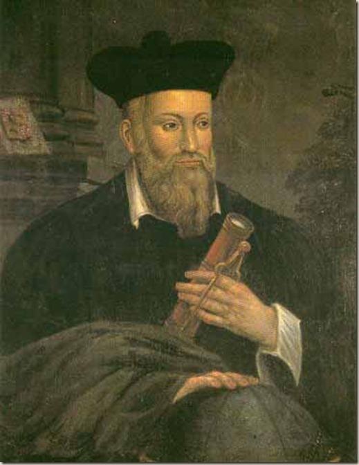 Nhà triết học người Pháp Nostradamus