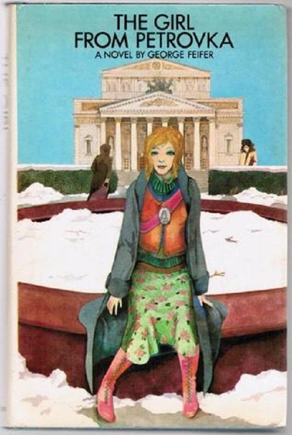 Bìa quyển sáchThe Girl From Petrovka. (Ảnh: Internet)
