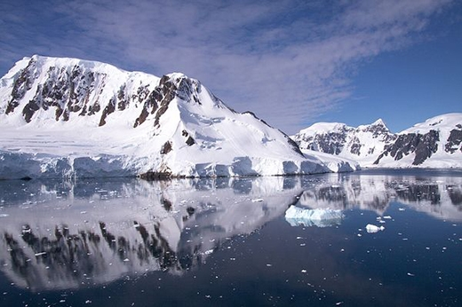 Tốc độ tan chảy của các sông băng ở Nam Cực trong hơn 10 năm qua đã diễn ra rất nhanh đến mức trở thành thảm họa. (Ảnh: Internet)