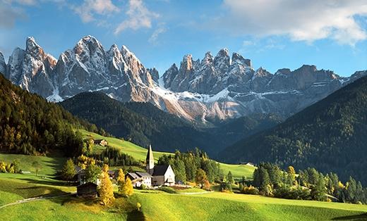 Việc trượt tuyết trên dãy Alps sẽ trở thành quá khứ trong 40 năm nữa. (Ảnh: Internet)