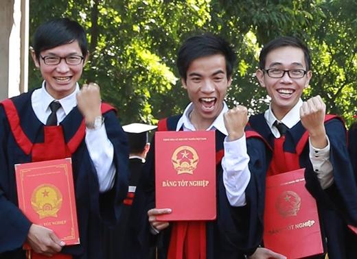 """Cười """"toe toét"""" thế này là đủ biết tốt nghiệp vui cỡ nào rồi nhé."""