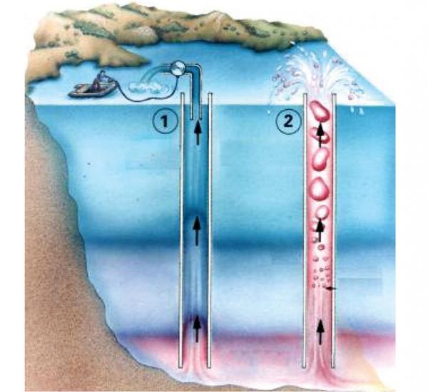 Để khử CO2cho hồ, các nhà khoa học cắm vào lòng hồ các ống nhựa rồi hút nước trong ống, CO2sẽ theo đường ốngphun ra ngoài.