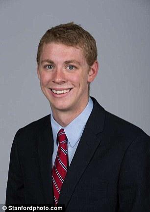 Brock Allen Turner, 20 tuổi, bị buộc tội cưỡng bức một phụ nữ đến bất tỉnhtrong khuôn viên đại học Stanford.(Ảnh: Stanfordphoto.com)