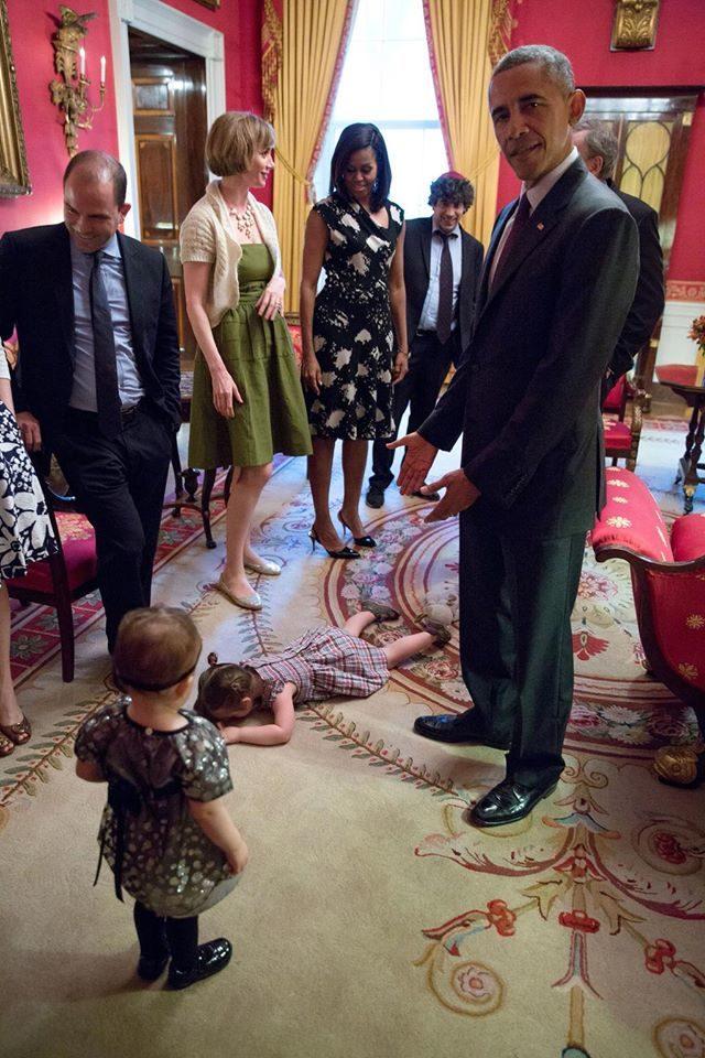 Được gặp tổng thống Obama.