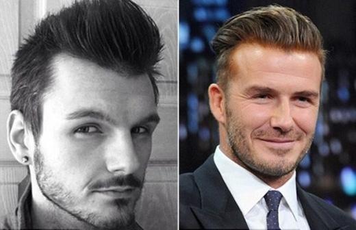 Sau khi lột xác hoàn toàn nhờ giảm cân, anh chàng có gương mặt rất giống Beckham và thậm chí từng được mời đóng giả ngôi sao sân cỏ một thời