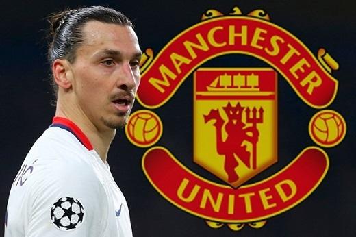 Zlatan Ibrahimovic gần như chắc chắn sẽ là người của Man Utd ở mùa sau. Ảnh: Internet.