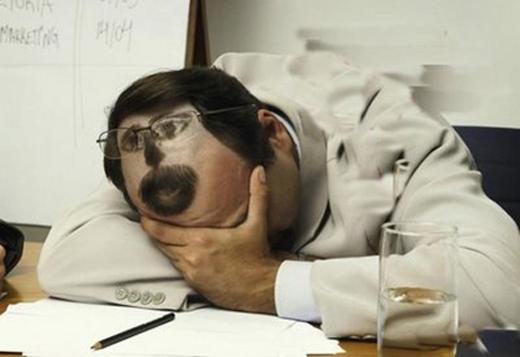 Chưa ngủ đâu, còn thức nhé. (Ảnh: Internet)