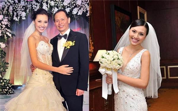 Huỳnh Thanh Tuyền trong ngày cưới.