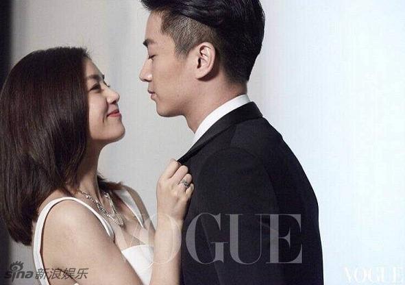 Trần Hiểu - Trần Nghiên Hy ngọt ngào trong bộ ảnh cưới đầu tiên