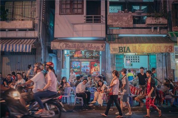 Sài Gòn đông đúc, thân thiện và đáng yêu. (Ảnh: Sanit.portfolio)