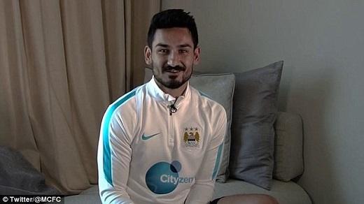 Cuối tuần qua, Man City đã chiêu mộ thành công Gundogan.Ảnh: Twitter Man City.