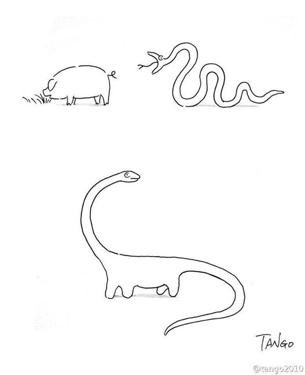 Bản chất của tiến hóa và sinh tồn là nuốt chửng đối thủ.