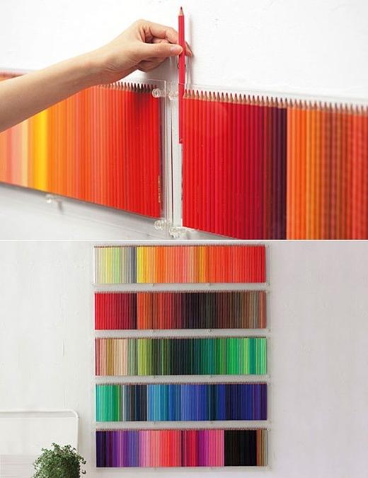 Lúc còn nhỏ chắc trong chúng ta cũng đều mơ về một bức tường đầy chì màu như thế. (Ảnh: Internet)