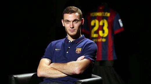 Vermaelen không thể tìm được chỗ đứng ở Barcelona