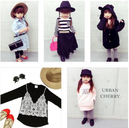 Cô bé thích tự chọn trang phục cho chính mình.