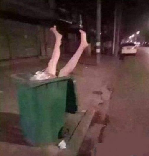 """""""Gặp trường hợp thế này thì các bạn sẽ làm gì? Theo tôi thì cho vào thùng rác là nhanh nhất"""". (Ảnh: Internet)"""
