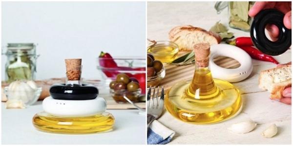 Thiết kế vật dụng nhà bếp độc đáo vàthông minh giúp căn bếp nhà bạn gọn gàng hơn. (Ảnh: Internet)