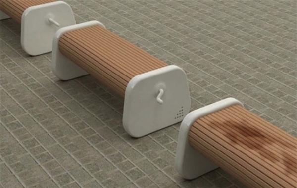 Chiếc ghế xoay này sẽ khô nhanh hơn vì không cần phải lật lên lật xuống. (Ảnh: Internet)
