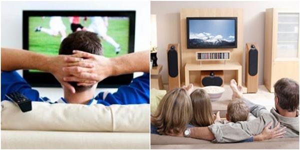 Các chàng trai sẽ thức thâu đêm suốt sáng cùng hội anh em xem bóng đá, và người đàn ông của gia đình sẽ dành trọn từng phút giây với gia đình, bất kể đó có phải là chương trình truyền hình yêu thích của anh ta hay không.(Ảnh: Internet)