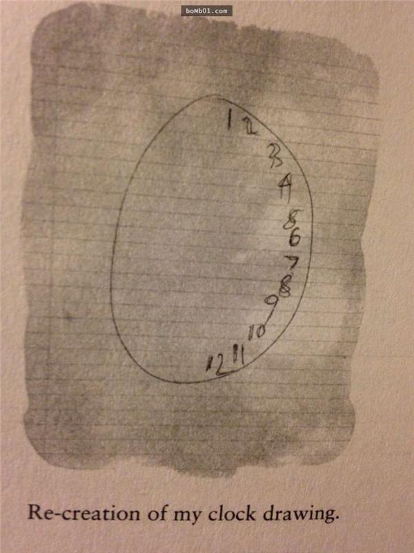 Bức vẽ đồng hồ của Susannah thiếu hẳn một nửa hình tròn là chìa khoá cho bácsĩ Souhel tìm ra căn bệnh. (Ảnh: Internet)