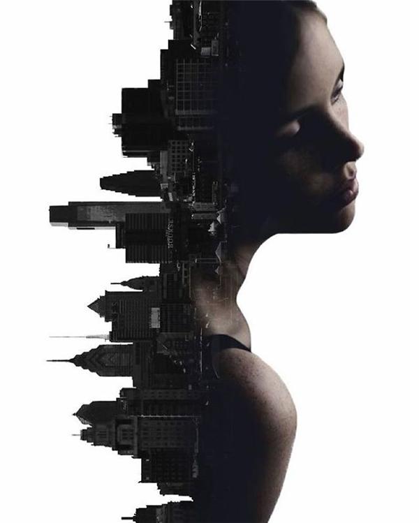 Những điều người con gái giấu kín trong lòng cũng tăm tối và bí ẩn như thành phố lúc chìm vào bóng tối.