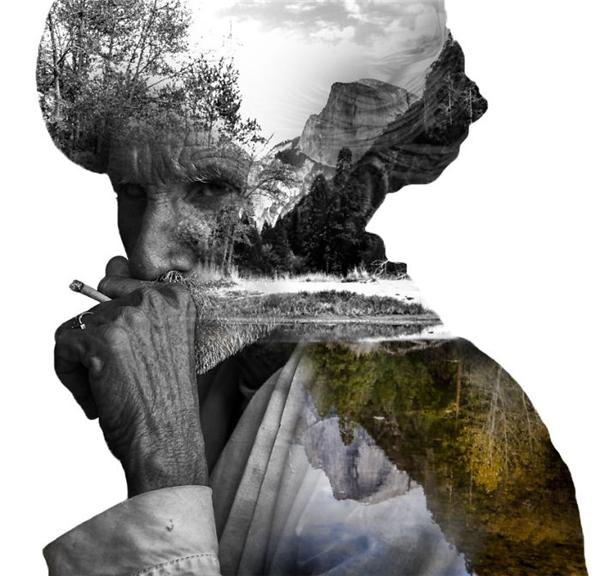 Tuổi già như mặt hồ tĩnh lặng, không còn bão tố nào có thể làm lay động.