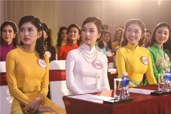 Các thí sinh xuất sắc lọt vào vòng chung khảo phía Nam của Hoa hậu Việt Nam 2016 .