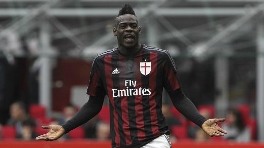 Mario Balotelli không để lại nhiều điều khi thi đấu cho AC Milan