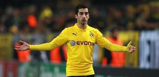 Henrikh Mkhitaryanchính là ngòi nổ quan trọng nhất trong lối chơi của Dortmund