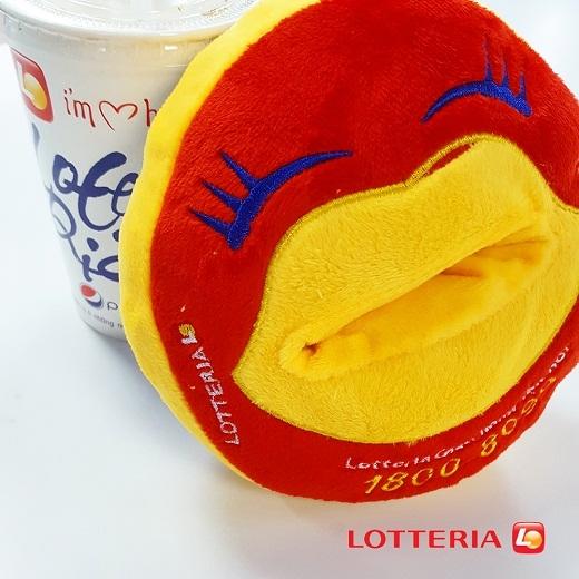 Đế điện thoại vô cùng dễ thương từ Lotteria