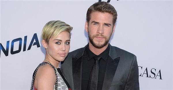 Miley - Liam hạnh phúc bên nhau tại một bữa tiệc tại Australia trong năm nay. (Ảnh: Internet)