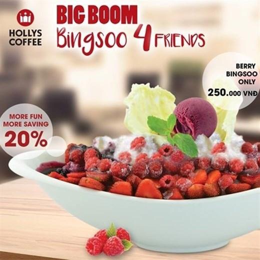 Sự kết hợp giữa ngọt thơm của rasberry, vị chua thanh của dâu tây, dẻo mềmcủa việt quất, mịn béo của kemsữa tuyết và trên cùng là 1 viên kem Mix Berry thơm ngất ngây.