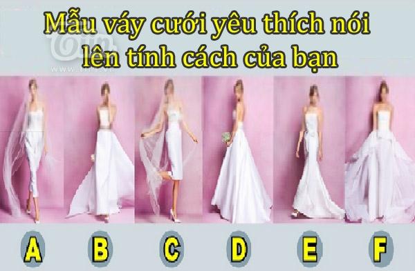 Cách chọn váy cưới thể hiện cá tính của bạn
